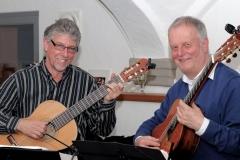 Gitarrenduo Keller und Wenger in Hüttisheim